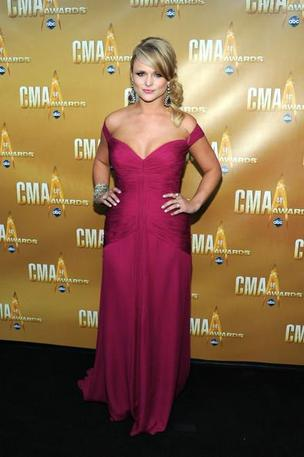 Miranda Lambert on the Black Carpet