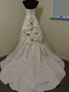Sincerity Bridal 3254 white size 6