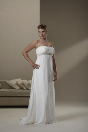 Sincerity Bridal 4515 size 22 white