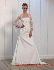 sincerity Bridal 3455 iv/white size 8 In Store Stock Level B