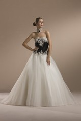 Sincerity Bridal 3551  ivory/black size