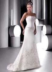 Justin Alexander 8272 size 8 ivory In Store Stock Level B