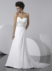 Maggie Sottero 1221 size14 White/Pewter Maggie Sottero in store