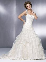 Maggie Sottero 3245 size  12 Ivory/Gold Maggie Sottero in store
