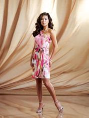 One shoulder adorable dress