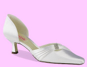 Dyeable Satin, Heel Height: 2