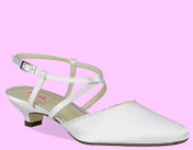 Dyeable Satin, Heel Height: 1�