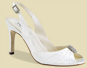 Duchesse Silk, Heel Height: 3 1/8