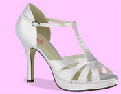 Dyeable Satin, Heel Height: 3