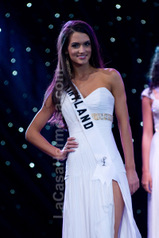 CA - MD Teen USA Grecian Gown