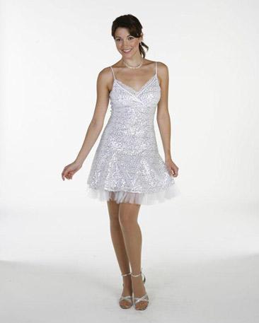 Short Sequence Dress