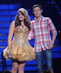AMERICAN IDOL Finale Dress Lauren Alaina