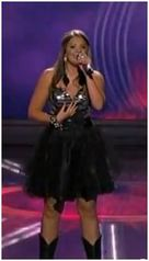 Our dress as seen on American Idol 2011 featured on Lauren Alaina JOVANI