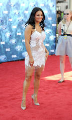 Pia Toscana American Idol 14338 Red Carpet white cocktail dress