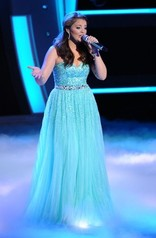 Our dress as seen on Lauren Alaina featured on American Idol 2011.