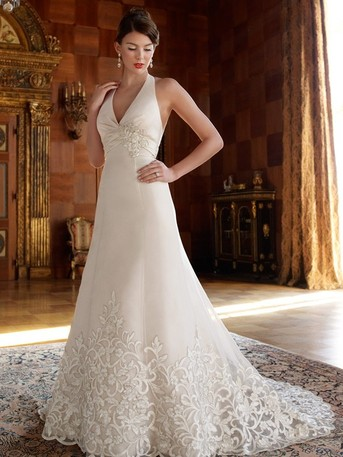 Casablanca Bridal. +$70 on sz. 18-22. +$100 on sz. 24-28