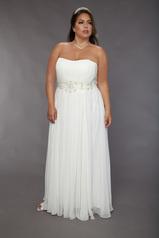 Sydney's Closet bridal. $50 upcharge on sz. 28+