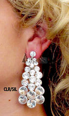 0310813 Rhinestone Earrings