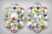 221817 Crystal Clip