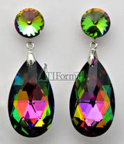 224419 Iridescent Earrings