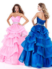 46820 Layered Ball Gown