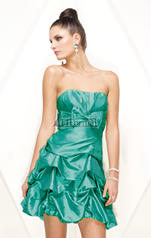 4118 Gathered Taffeta