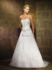 2108 Strapless A-Line