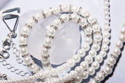 Pearl Rhinestone Bra Straps