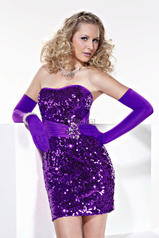 Strapless Sequined
