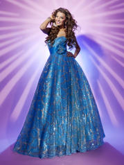 112547 Sequined Ball Gown