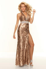 93028 Sequined Halter