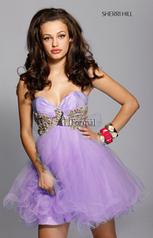 1043 Short Ball Gown
