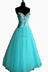 2930 Jeweled Ball Gown