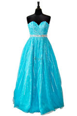 8516 Lace Ball Gown