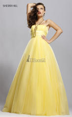 90006 Yellow Ball Gown