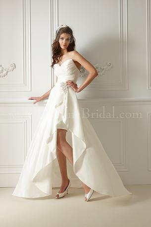 Jasmine Bridal F479 with Detachable Train