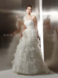 Jasmine Bridal T496 with Detachable Train