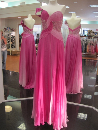Sherri Hill Pink Ombre