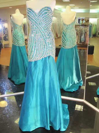 Sherri Hill Zircon RS Drop Waist