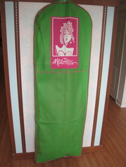 Miss Priss Garment Bag:  Gown-Length Size