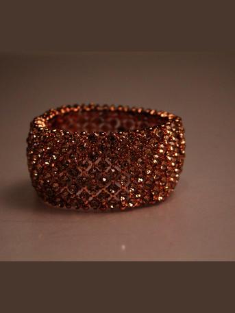 SUSAN SCHERTZ - Cubic Zirconia Cuff Bracelet
