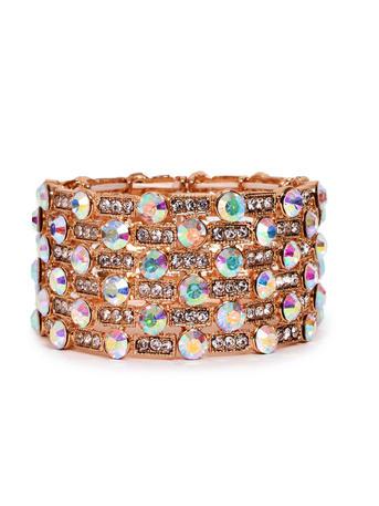 SUSAN SCHERTZ - Rhinestone Cuff Bracelet