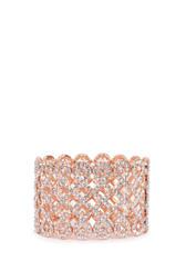 Cubic zirconia stretch bracelet